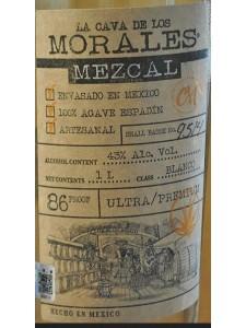 La Cava De Los Morales Mezcal Ultra Premium Blanco