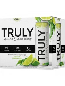 TRULY Spiked and Sparkling Water Colima Lime 6-12 oz. Cans