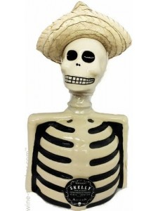 Skelly Reposado Ultra Premium Tequila Figurine