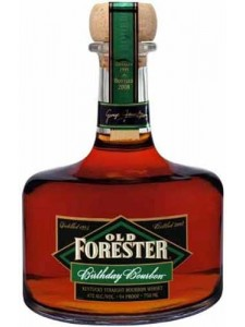 12 years old Old Forester Birthday Bourbon - Kentucky Straight Bourbon Whiskey (2000-2012)