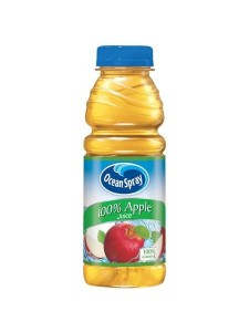 Ocean Spray 100% Apple Juice 15.2 fl. oz.
