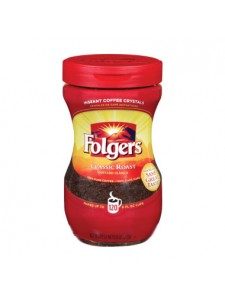 Folgers Classic Roast Instant Coffee 120 cup size