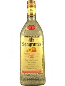 Seagrams Peach Twisted Gin 750ML