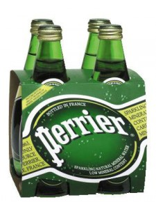 Source Perrier Sparkling Natural Mineral Water 4-pack 11.15 fl.oz.