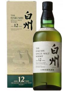 The Hakushu Aged 12 years Single Malt Japanese Whisky