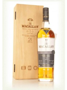 The Macallan 21 Years Old Triple Cask Matured Fine Oak Single Malt Scotch Whisky
