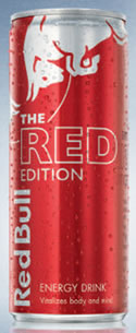 red bull the red edition 12 fl oz can. Black Bedroom Furniture Sets. Home Design Ideas